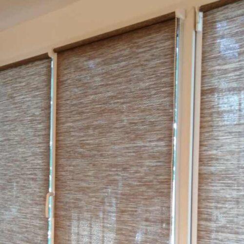 rolete textile semi-transparente